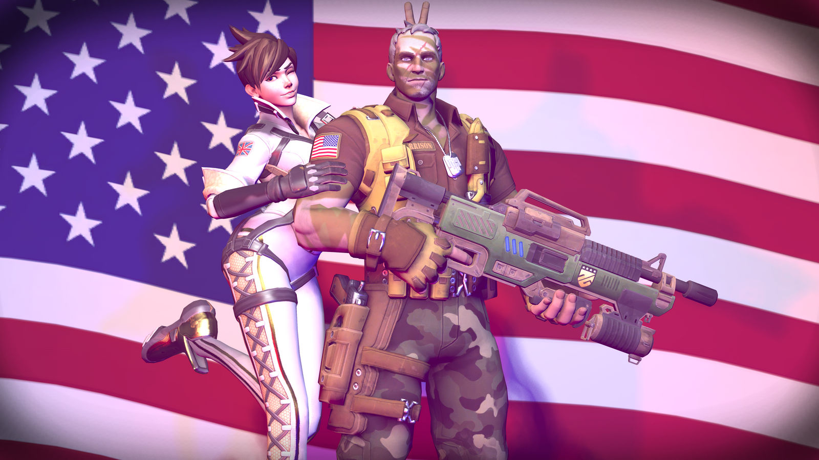 Overwatch: 4th of July