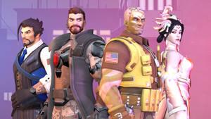 Overwatch 2049 Wallpaper