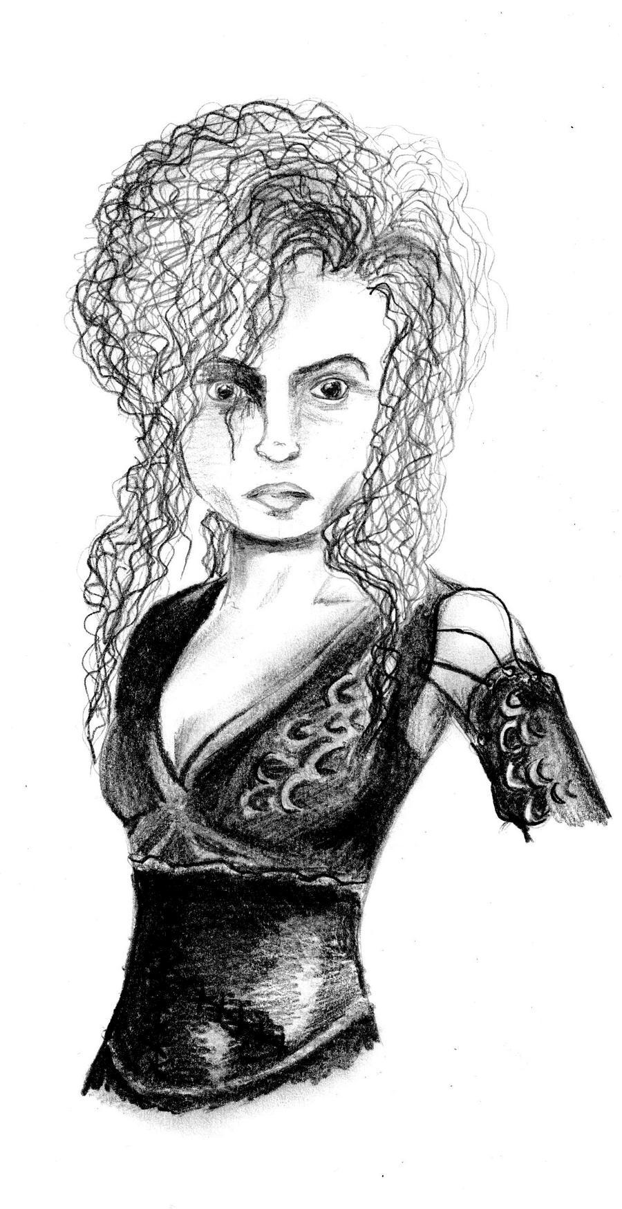 Bellatrix Lestrange by kitsune89