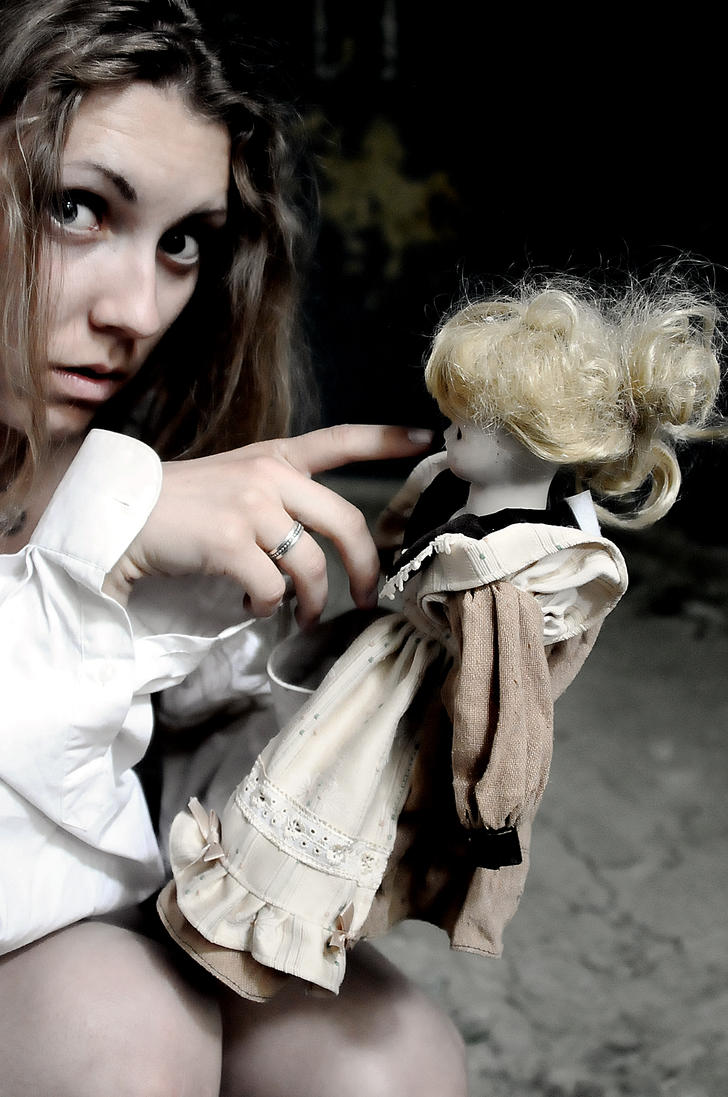 The doll and me in the mental hospital by kitsune89