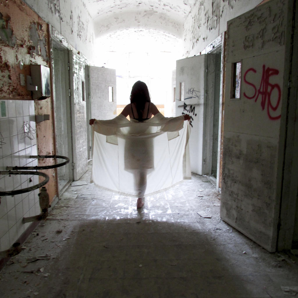 Angel in the Abandoned Asylum by kitsune89