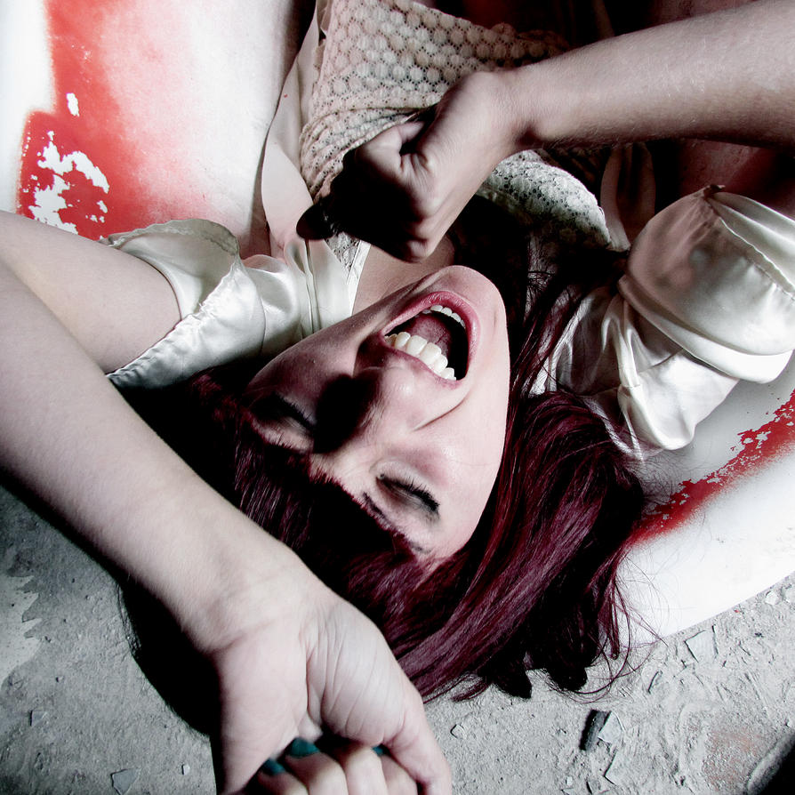 scream of insanity by kitsune89