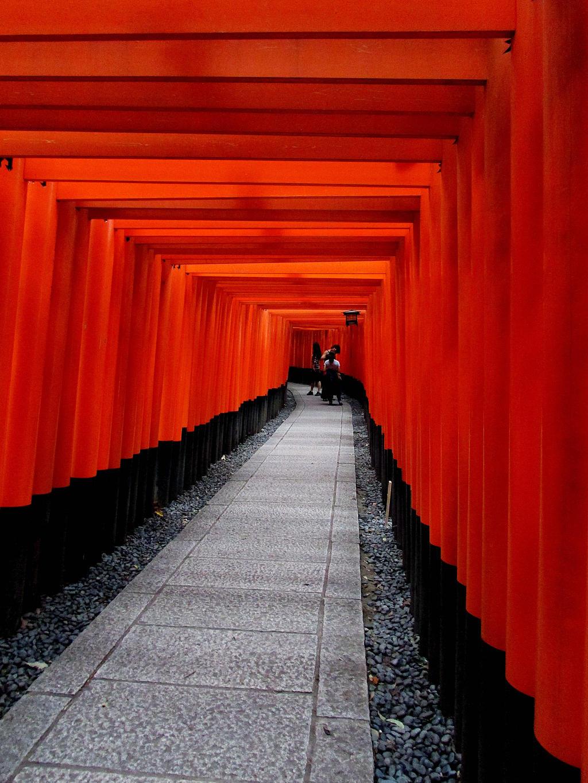 Gates in Kyoto by kitsune89
