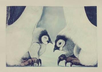 Penguin's family. by ChiaraLeo
