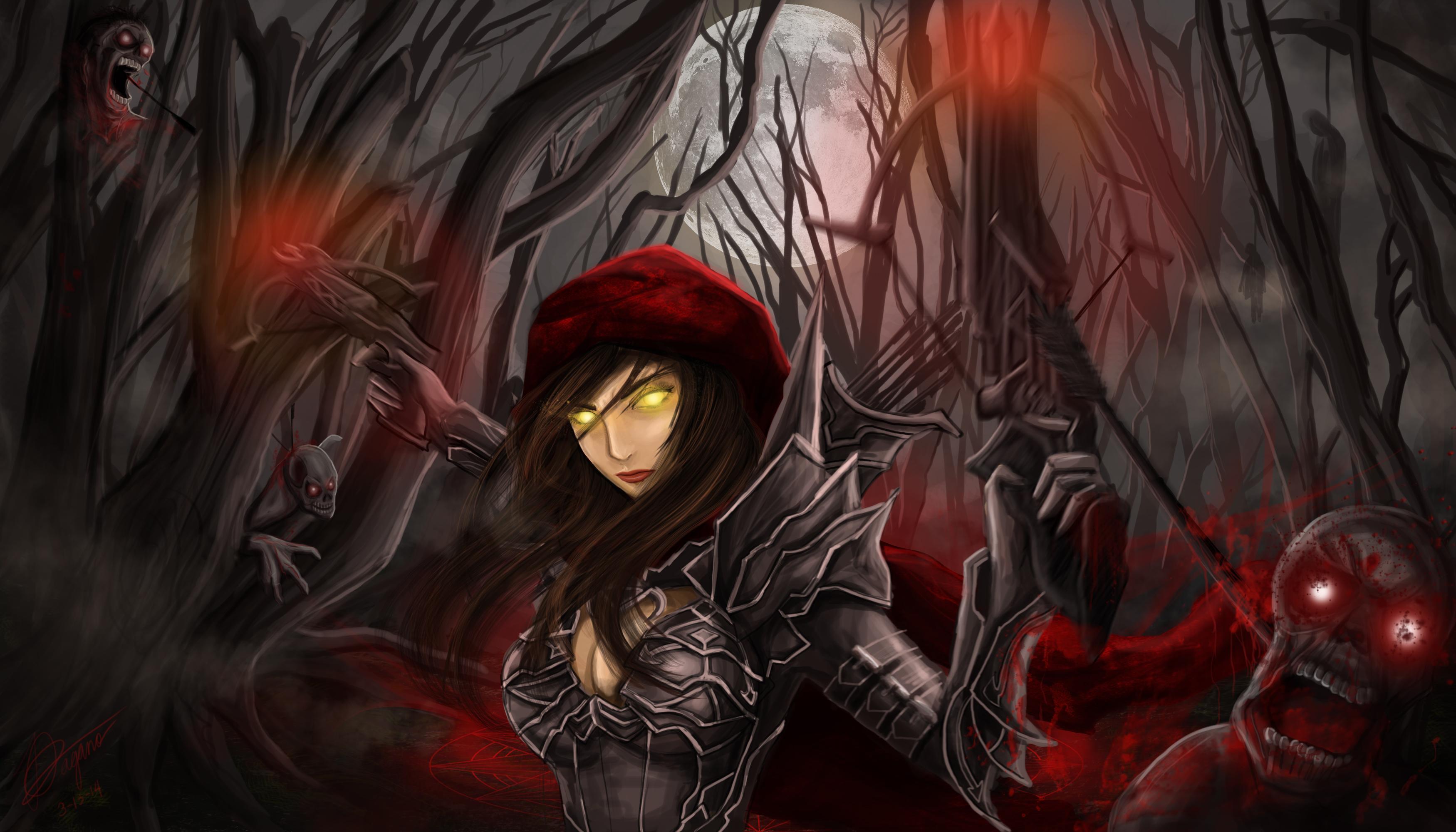 huntress of souls