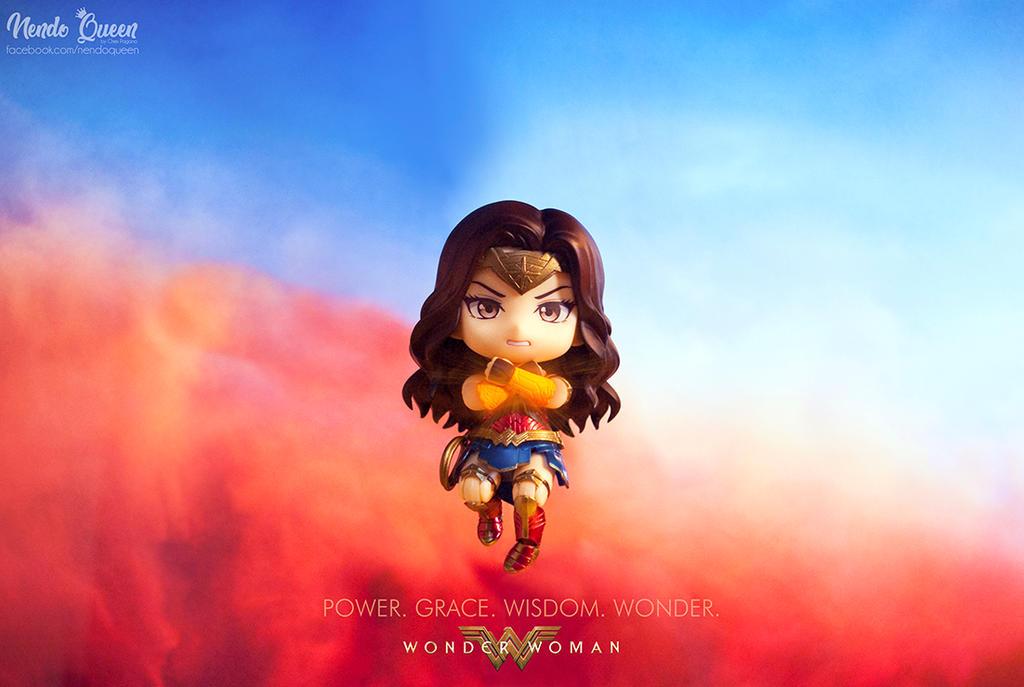Wonder Woman Chibi Poster 1