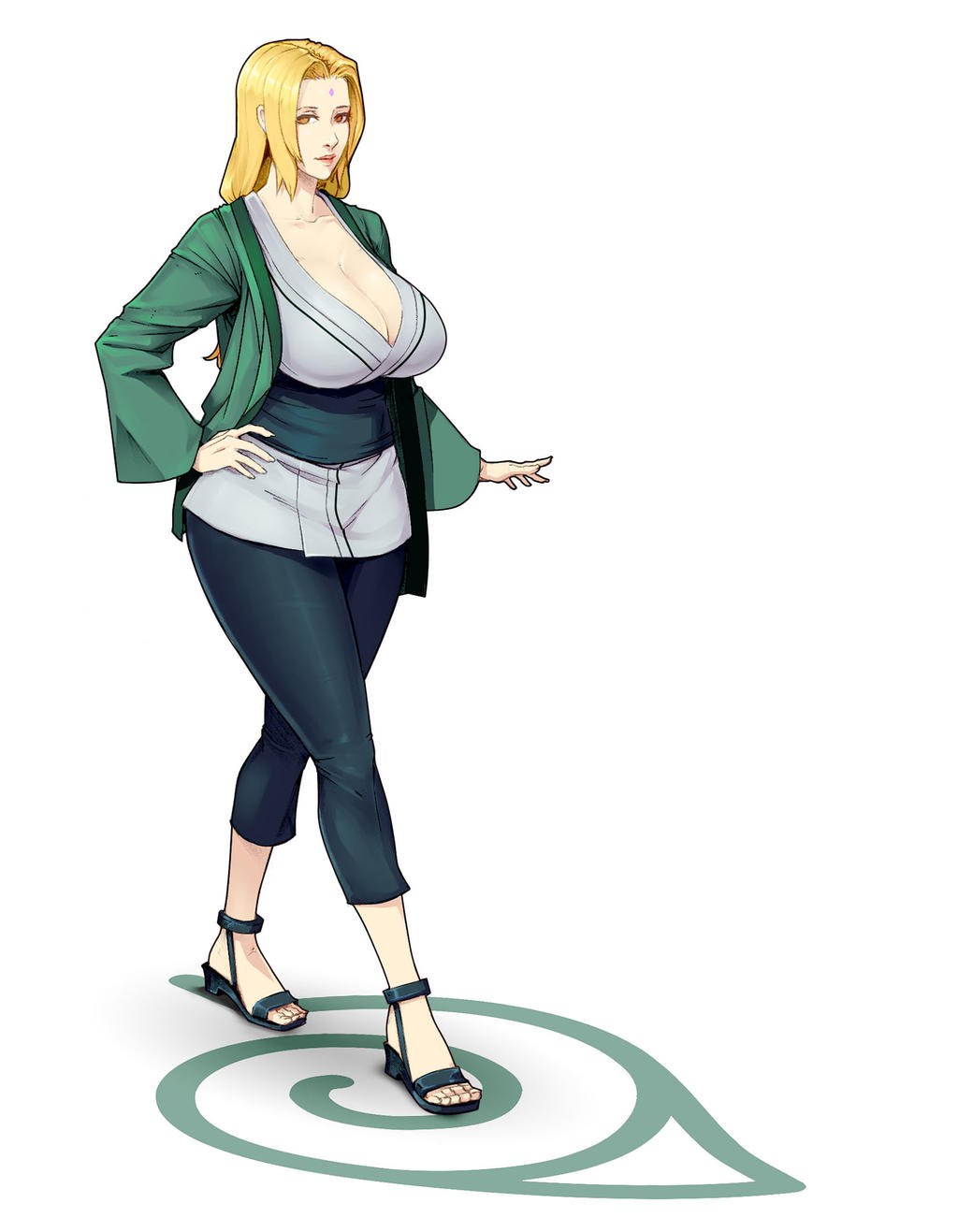 Tsunade by Materclaws