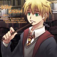 APH? Arthur in Harry Potter by KoujiT