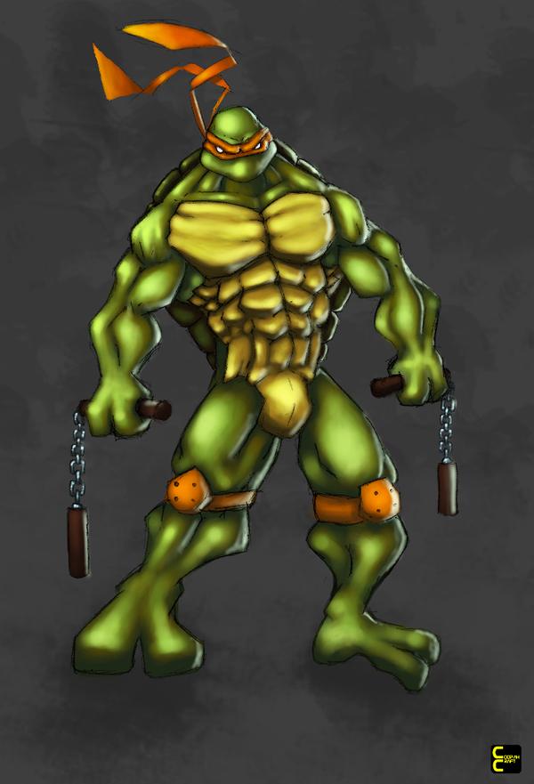 TMNT Michelangelo by CoopahCraft