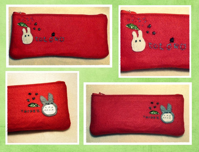 Totoro Pencil Cases by Plushbox