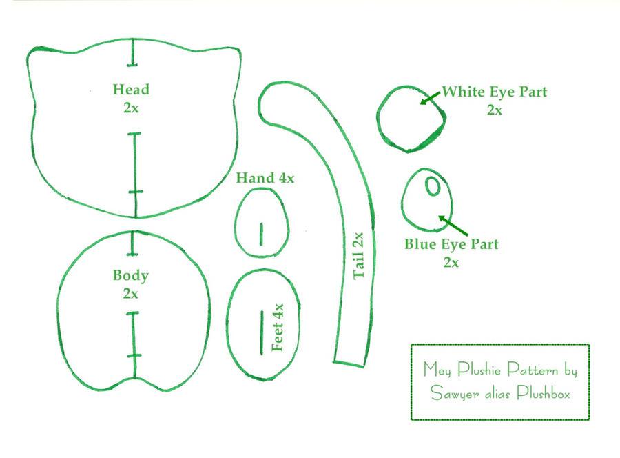 Mew Plushie Pattern by Plushbox on DeviantArt