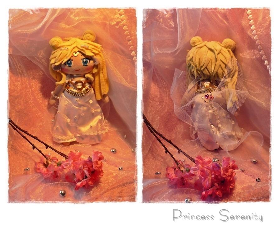 Princess Serenity Plushie by Plushbox