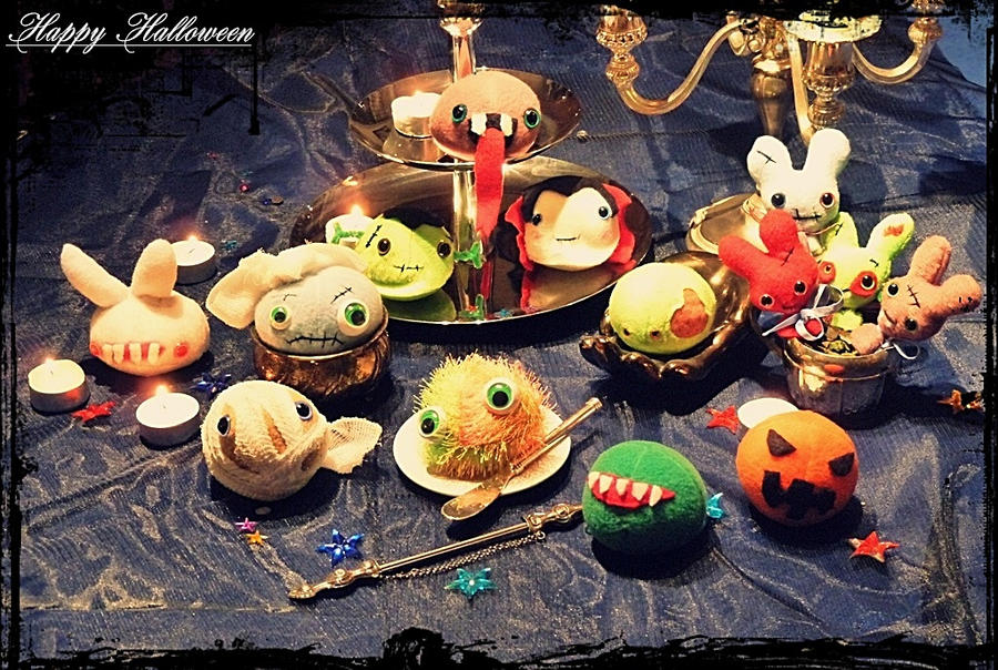 Halloween Plushies 2011 by Plushbox