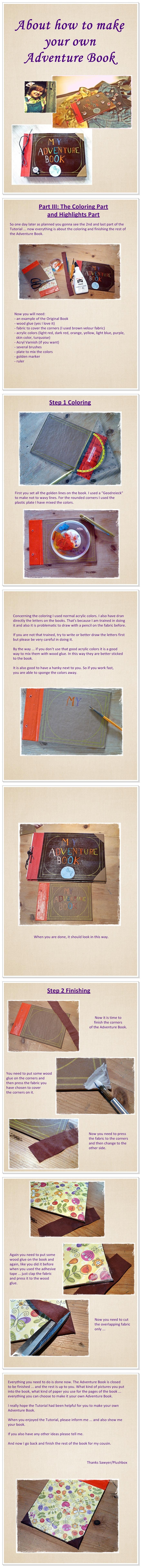 Adventure Book Tutorial III