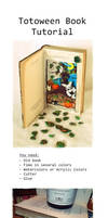 Totoween Book Tutorial