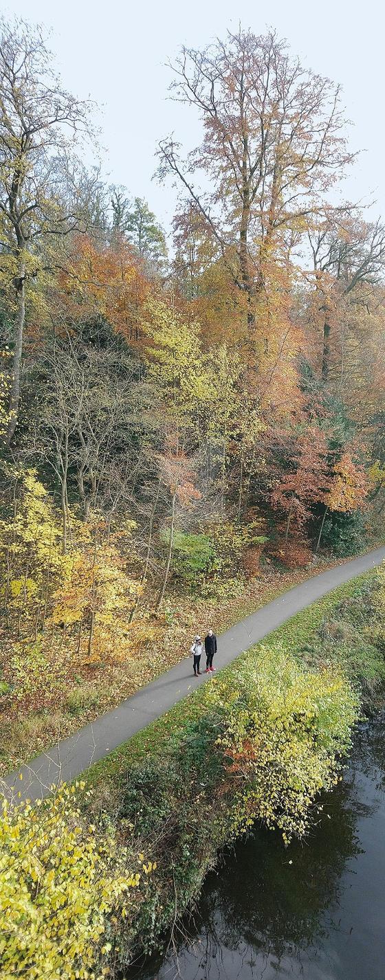 A Riverside Walk by kirk53