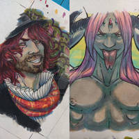 ACEO commissions pt 1