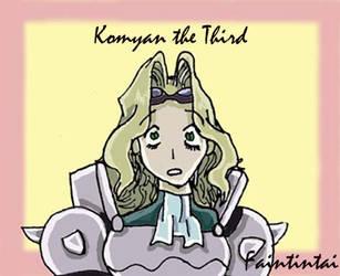 Komyan the Third by Faintintai