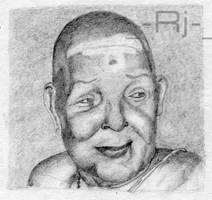 Portrait : Chembai by rjwarrier