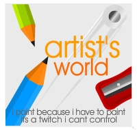 Artist's World by rjwarrier