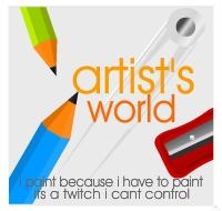 Artist's World by rjwarrier