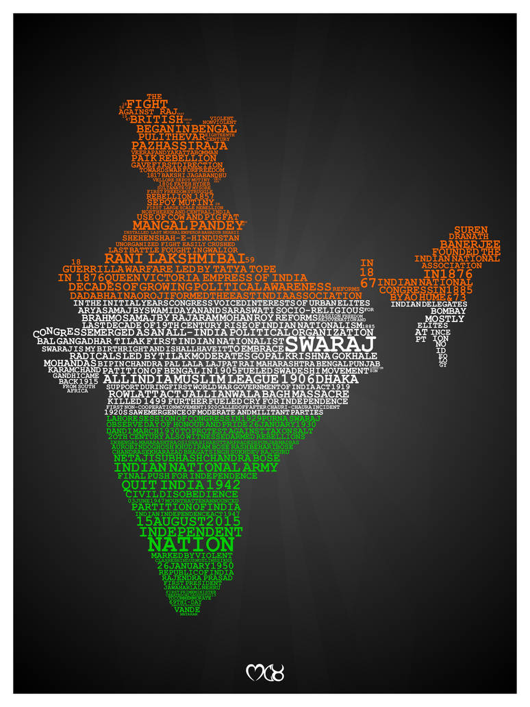 Day of Indian Independence by rjwarrier