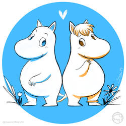 Moomin by Hyzave