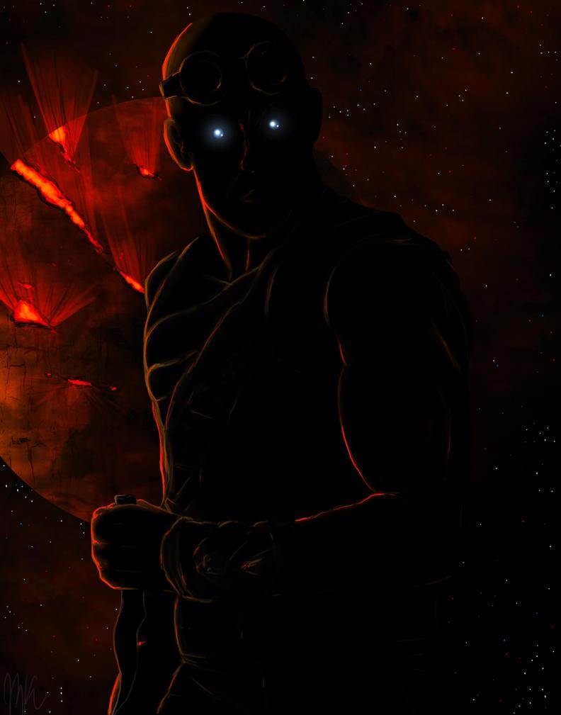 Riddick's True Form by marckasprzyk