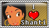Shanti stamp by Tiquitoc
