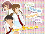 School festival, dating sim otome game