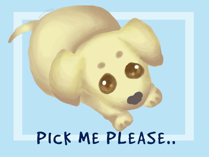 Pick me up please... by TheLazyFatCat on DeviantArt