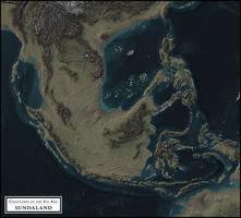 Coastlines of the Ice Age - Sundaland by atlas-v7x