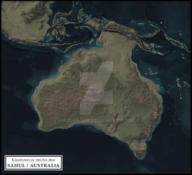 Coastlines of the Ice Age - Sahul / Australia