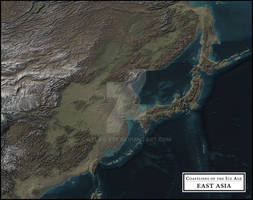 Coastlines of the Ice Age - East Asia