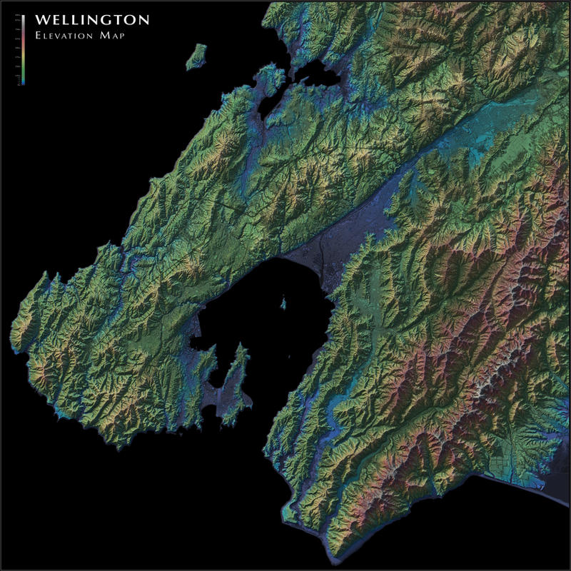 Wellington elevation map by atlas v7x on deviantart wellington elevation map by atlas v7x gumiabroncs Choice Image