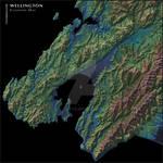Wellington Elevation Map