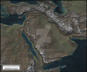 Coastlines of the Ice Age - Middle East