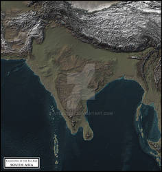 Coastlines of the Ice Age - South Asia