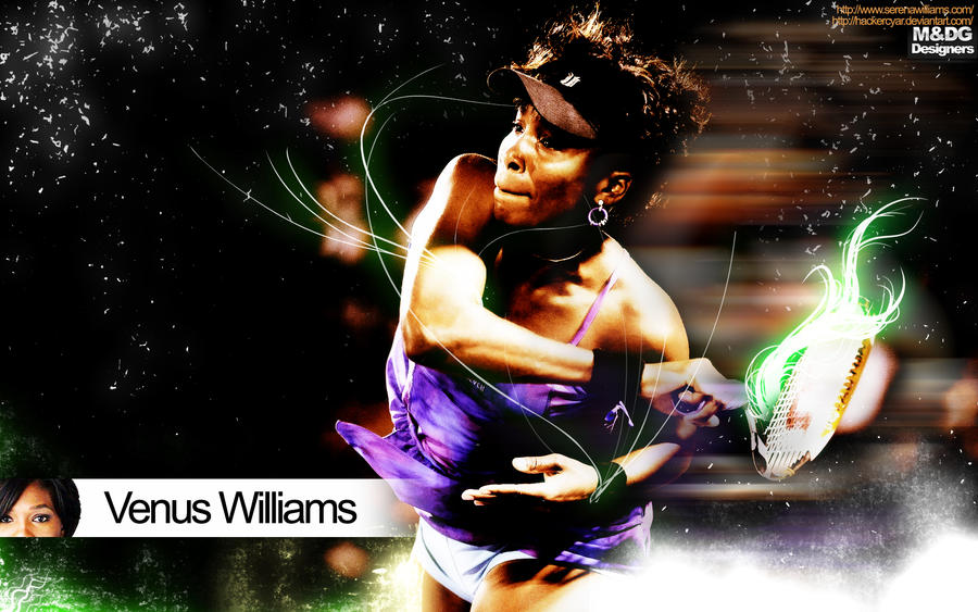 Venus Williams by Hackercyar