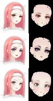 TDA Love Nikki Inspired Makeup Pack 2 - DL - by olivemoone