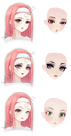 TDA Love Nikki Inspired Makeup Pack 2 - DL -