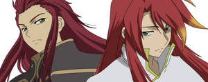 Luke and Asch - Mirrors (old version) by NoraChroma