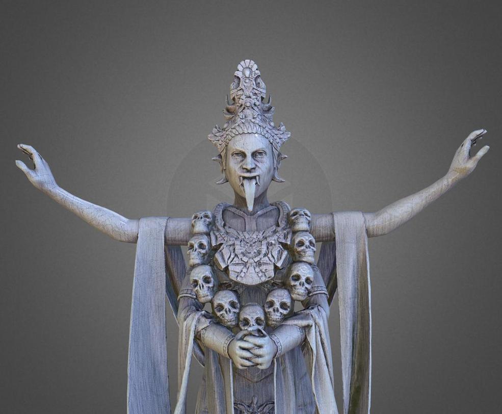 Mephala Statue by scruples321
