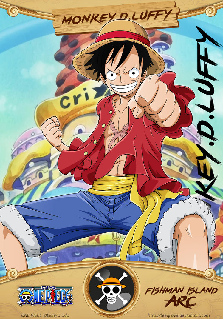 D Exhibition One Piece : Monkey d luffy card by leegrove on deviantart
