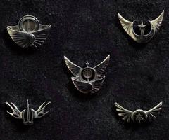 IGG My Little Pony Faction Pin Prototypes by ChaosDrop