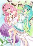 Miku and Luka's Spring