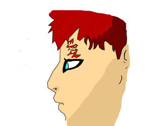 Gaara-digital version by dark-charmander