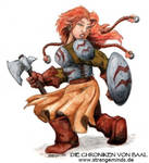 Baal - Zwergin by strangeneph