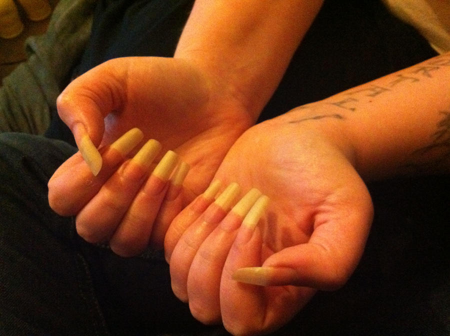 Long nails naturel by morphea01 on DeviantArt