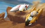 speed racer vs racer x